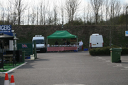 Outdoor hog roast event